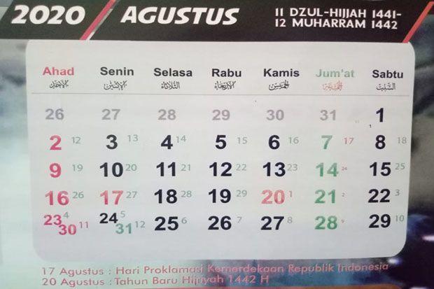 Jadwal Puasa Sunnah Bulan Agustus 2020 Dan Niatnya
