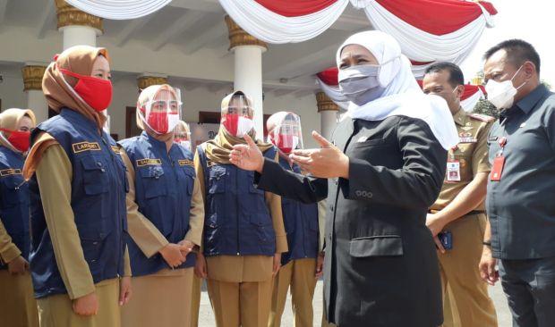 Cerita Khofifah di Hadapan Alumnus IPDN Angkatan XXVII