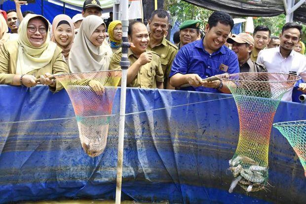 Produksi Ikan Banyuasin Suplai Kebutuhan Nasional