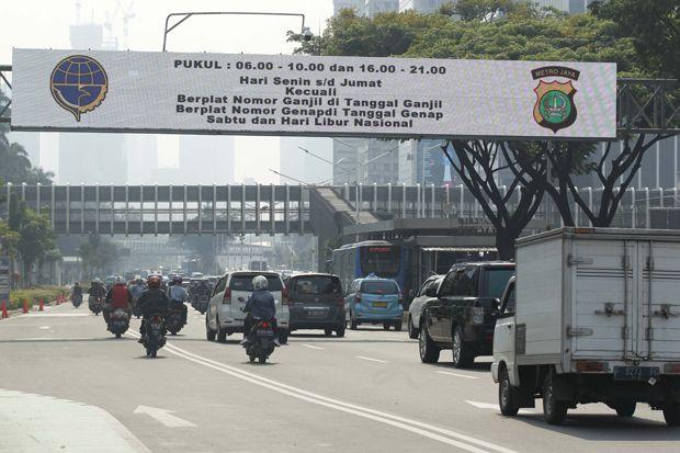 Hari Kedua Ganjil Genap, 155 Pengendara Lakukan Pelanggaran di Jakarta Barat
