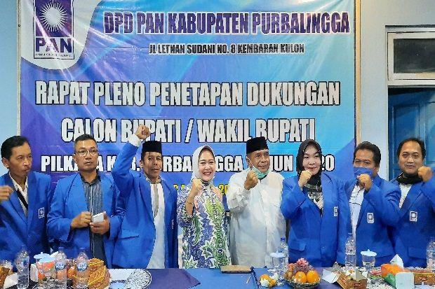 Dukungan PAN Purbalingga Berlabuh ke Pasangan Petahana Tiwi-Sudono
