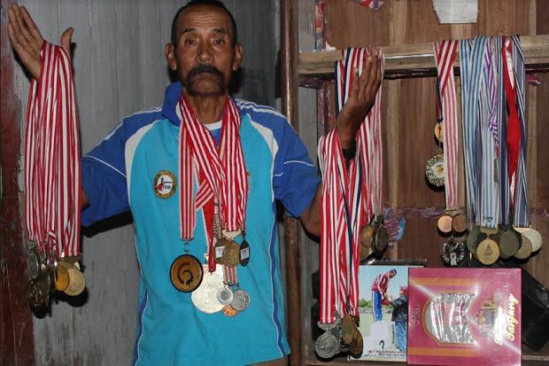 Mantan Atlet asal Semarang Ini Raih Puluhan Medali Kejuaran Regional Hingga Internasional