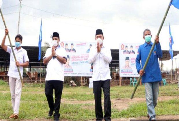 Hasyim - Tumpak Deklarasi Balon Bupati - Wakil Bupati Simalungun di Kandang Lembu