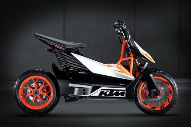 Sketsa KTM EMotion Bakal Bikin Panas Pasar Skutik 2022