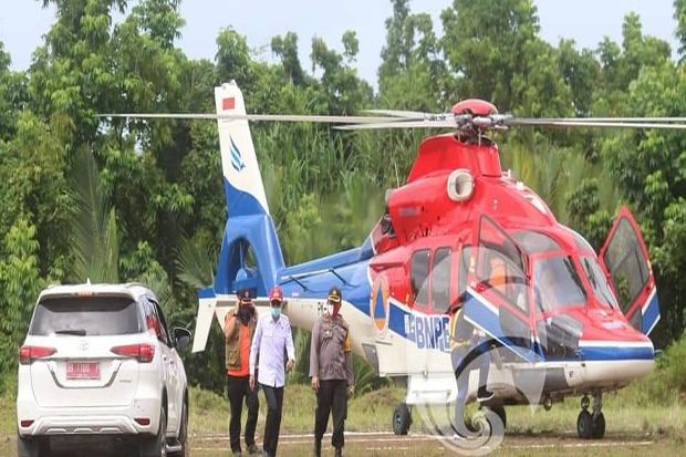 Bantuan Sosial BNPB Tiba di Kabupaten Bolsel