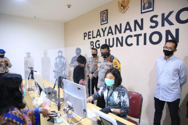 Polrestabes Surabaya Buka Layanan Pengurusan SKCK di BG Junction