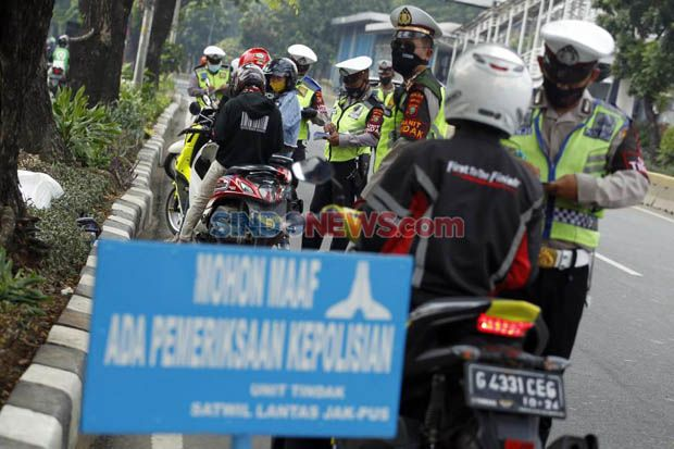 3.288 Pengendara Ditilang, Pelanggaran di Kota Depok Terbanyak saat Operasi Patuh Jaya 2020