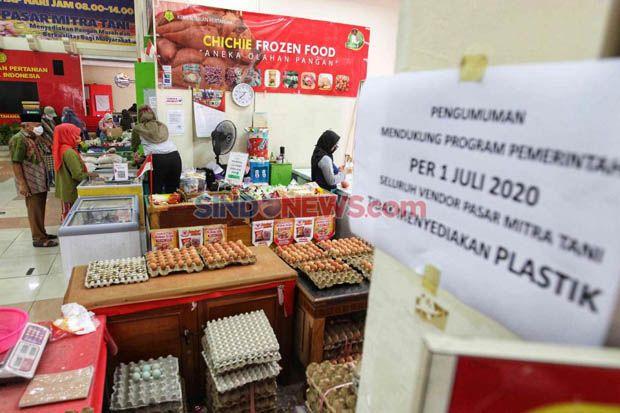 Pasar Tradisional Belum Disiplin dalam Penerapan Larangan Penggunaan Kantong Plastik