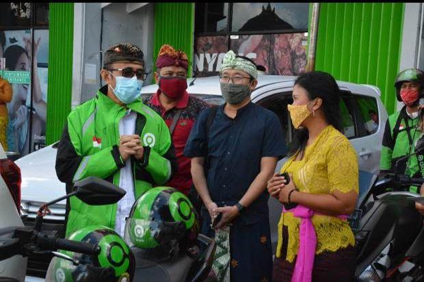 Wakil Wali Kota Denpasar Luncurkan Separator Gojek