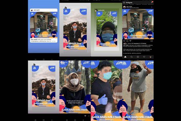 Kaum Milenial Gaungkan Gerakan #kerenbermasker untuk Cegah COVID-19