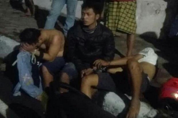 Komplotan Curanmor Surabaya Babak Belur Dihajar Massa