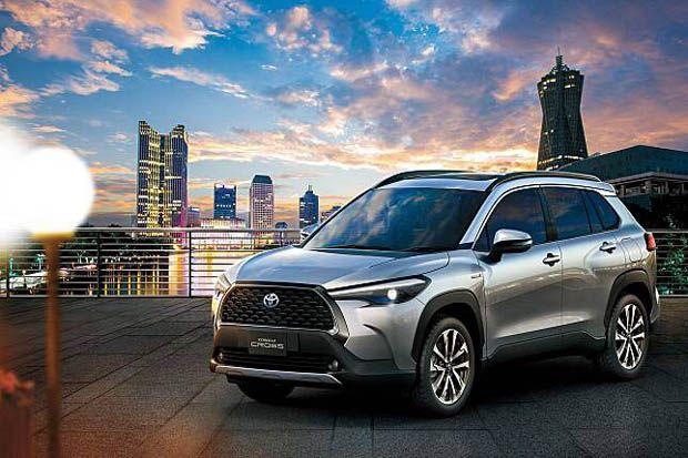 Toyota Corolla Cross Resmi Dijual Rp450 Jutaan di Indonesia