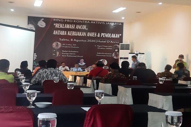 Debat Sengit Aktivis Jakarta, Reklamasi Ancol Harus Hasilkan Pantai Publik