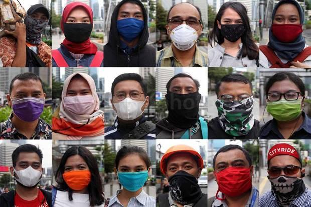 Kesadaran Bermasker di Bandar Lampung Rendah, Petugas Rajin Razia