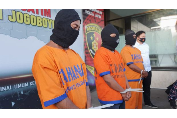 Pukuli Dokter, Ketua dan Dua Angota LSM GMBI Ditahan Polda Jatim