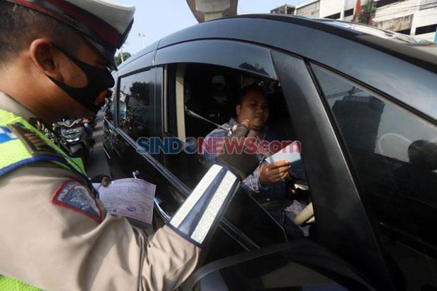 106 Kendaraan di Jakarta Utara Melanggar Ganjil Genap