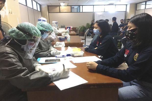Deteksi Covid-19, 23 Paskibraka Jakarta Utara Jalani Rapid Test