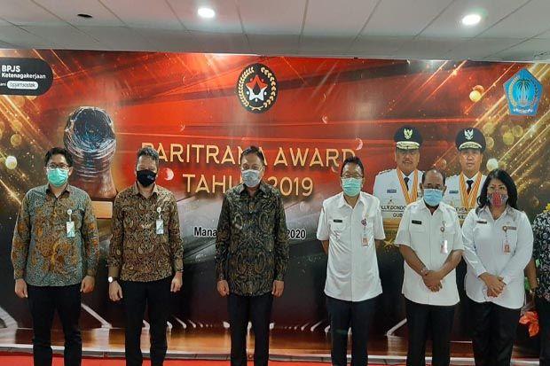 Pemprov Sulawesi Utara Sabet Paritrana Award 2019