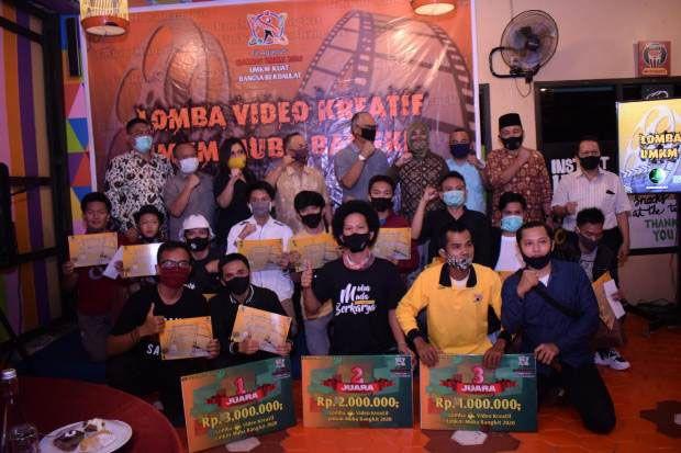 Peringati Hari UMKM, Muba dan Komunitas Medsos Sukses Gelar Lomba Video Kreatif