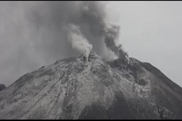 Gunung Sinabung Erupsi, Maskapai Penerbangan Diminta Semakin Waspada