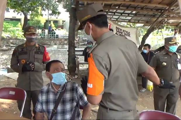 Tak Pakai Masker Dominasi Pelanggar PSBB di Jakarta Timur