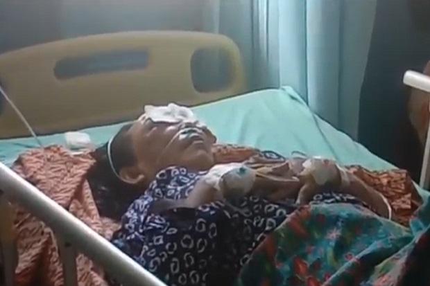 Wanita Paruh Baya Terkapar di Teras Masjid Dianiaya Begal