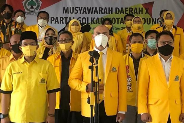 Resmi Pimpin Golkar, Edwin Senjaya Janjikan Ini bagi Warga Kota Bandung