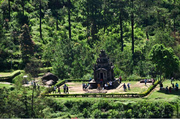 Menapak Jejak Sejarah Candi Gedong Songo di Lereng Gunung Ungaran