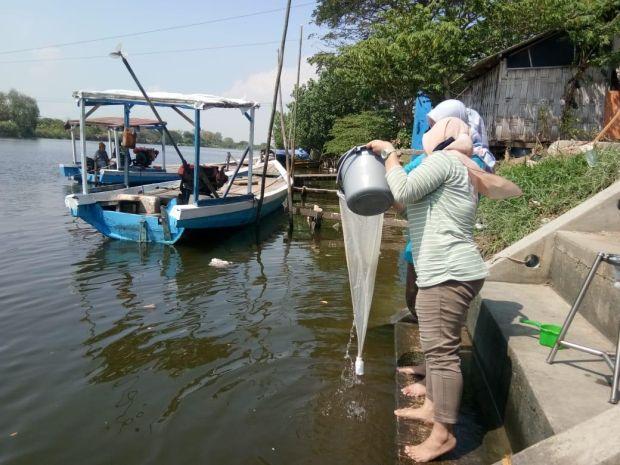 Aliran Bengawan Solo Gresik Diduga Tercemar Limbah Mikroplastik