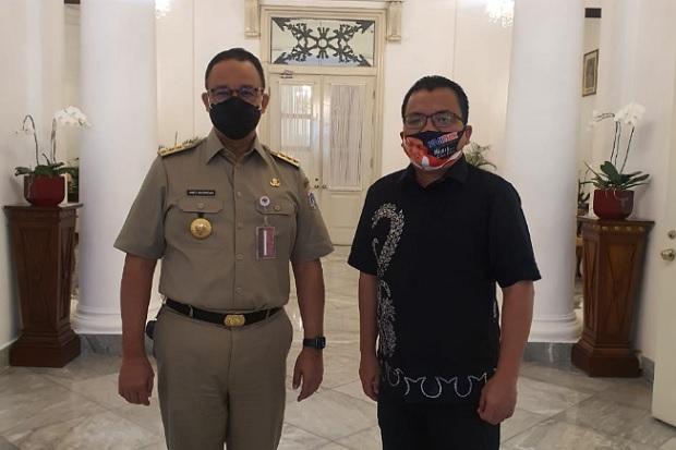 Maju Pilgub Kalsel, Denny Indrayana Temui Anies Baswedan selama 1 Jam
