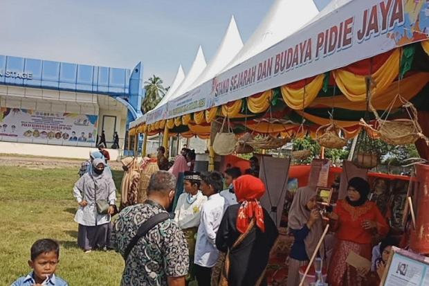 Pekan Kebudayaan Daerah Pidie Jaya Tampilkan Berbagai Lomba Permainan Tradisional