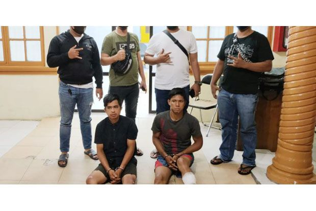 Dua Pencuri Motor Milik Jemaah Masjid Ditembak Petugas