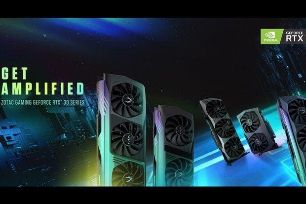 Zotac Gaming GeForce 30 Series, GPU yang Disokong NVIDIA Ampere