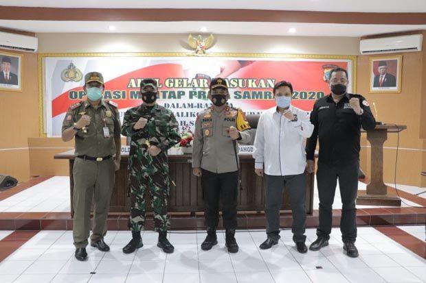 Amankan Pilkada Sulut, 3.577 Personil Polri-TNI dan Instansi Terkait Disiagakan