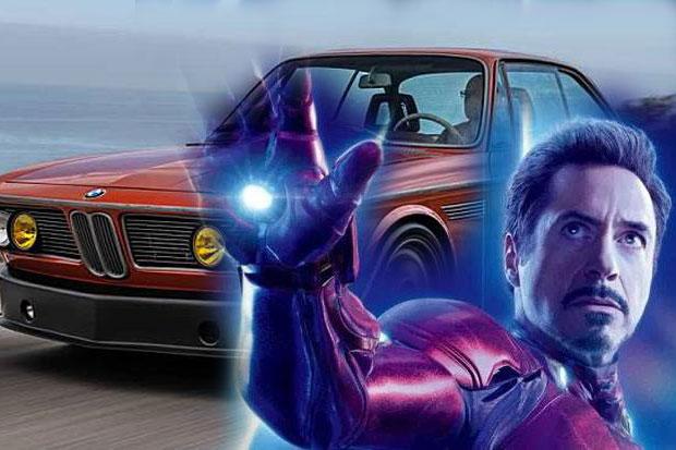 Pemeran Iron Man Modifikasi Mobil BMW Klasik Tahun 1974