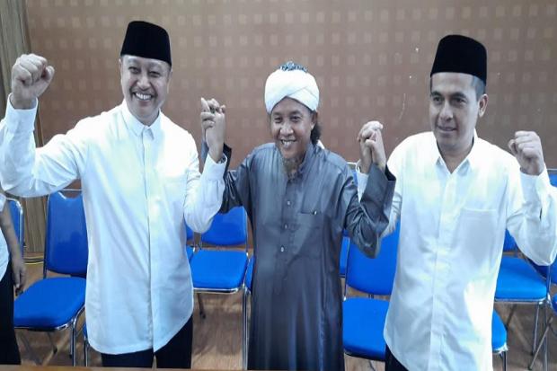 Pimpinan Pondok Pesantren Miftahul Huda Tasikmalaya Dukung Paslon Iwan Saputra-Iip