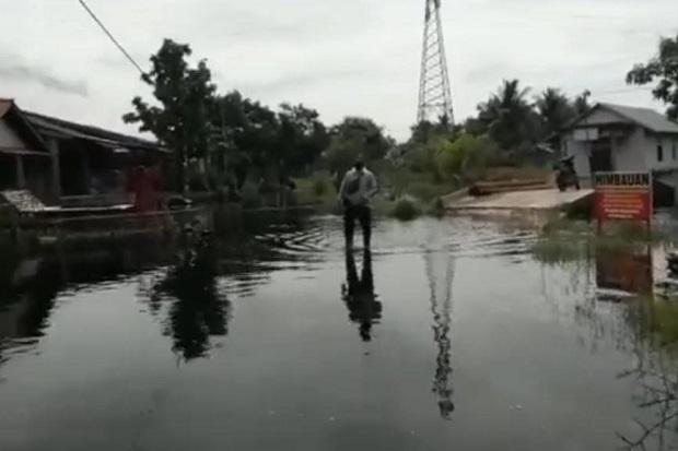 Hujan Lebat dan Sungai Tersumbat, 3 Kecamatan di Mempawah Kebanjiran