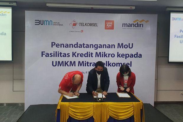Tiga BUMN Hadirkan Kemudahan Kredit Usaha Bagi UMKM