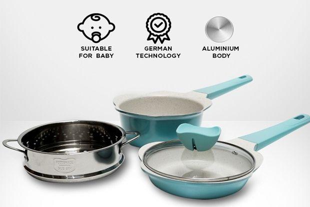 Anda Punya Bayi? Welcook Cookware Punya Mitra Serasi untuk Urusan di Dapur