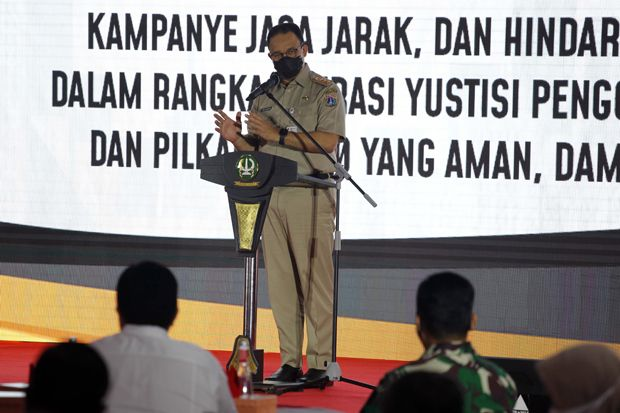 Siang Ini, Anies Undang Kepala Daerah Bodetabek untuk Lakukan PSBB Total