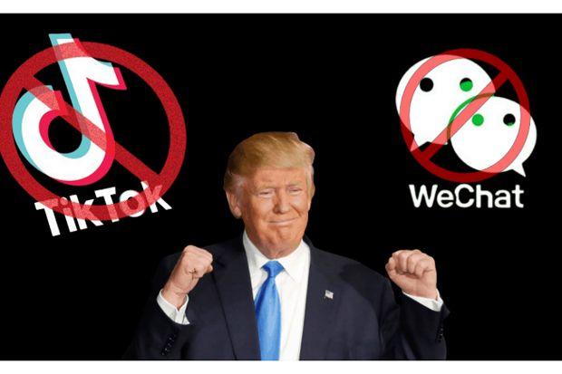Donald Trump Sukses Bikin Pendapatan TikTok Melorot