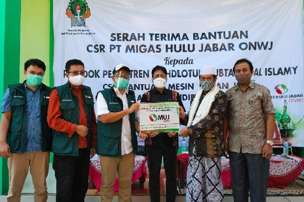 MUJ ONWJ Salurkan Bantuan CSR Pengembangan Budi Daya Lele di Indramayu