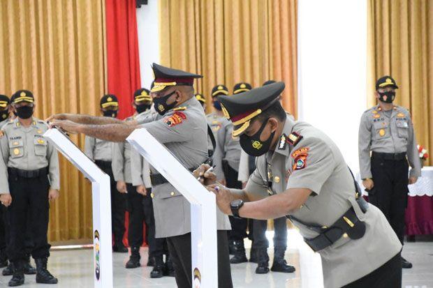 Kombes Pol Patrige Rudolf Renwarin Resmi Jabat Wakapolda Papua Barat