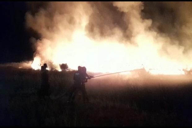 Kawasan Bandara Umbu Mehan Kunda Sumba Timur Terbakar Hebat