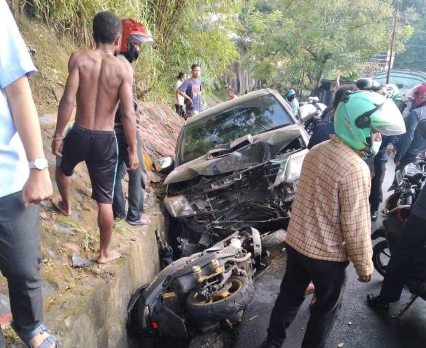Diduga Mabuk, Wakil Bupati Yalimo Tabrak Polwan hingga Tewas