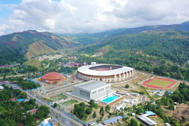 Istana Olah Raga Papua Sebentar Lagi Rampung