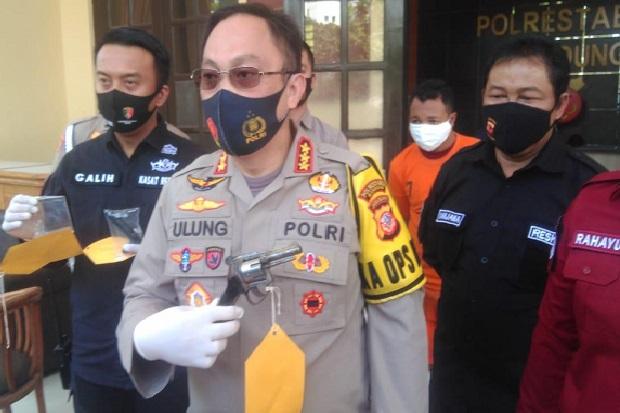 Begal Bersenjata Api Rakitan asal Lampung Timur Beraksi di Bandung