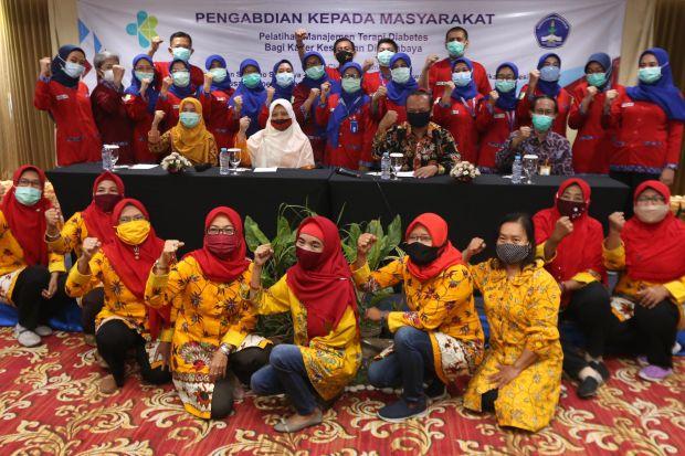 Diabetes Mengancam, Para Perawat Surabaya Bentuk Kader Kesehatan