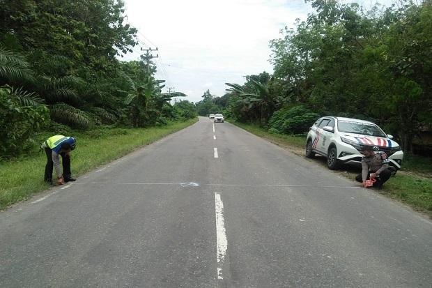 Dua Pengemudi Sepeda Motor Tewas Usai Tabrakan di Jalinsum