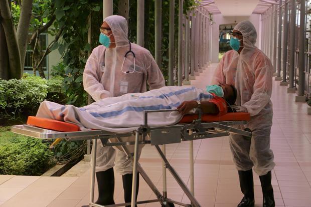 Rumah Sakit Rujukan Kabupaten Bekasi Hampir Terisi Penuh Pasien Covid-19